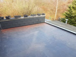 renovation toiture liege plate forme isolation