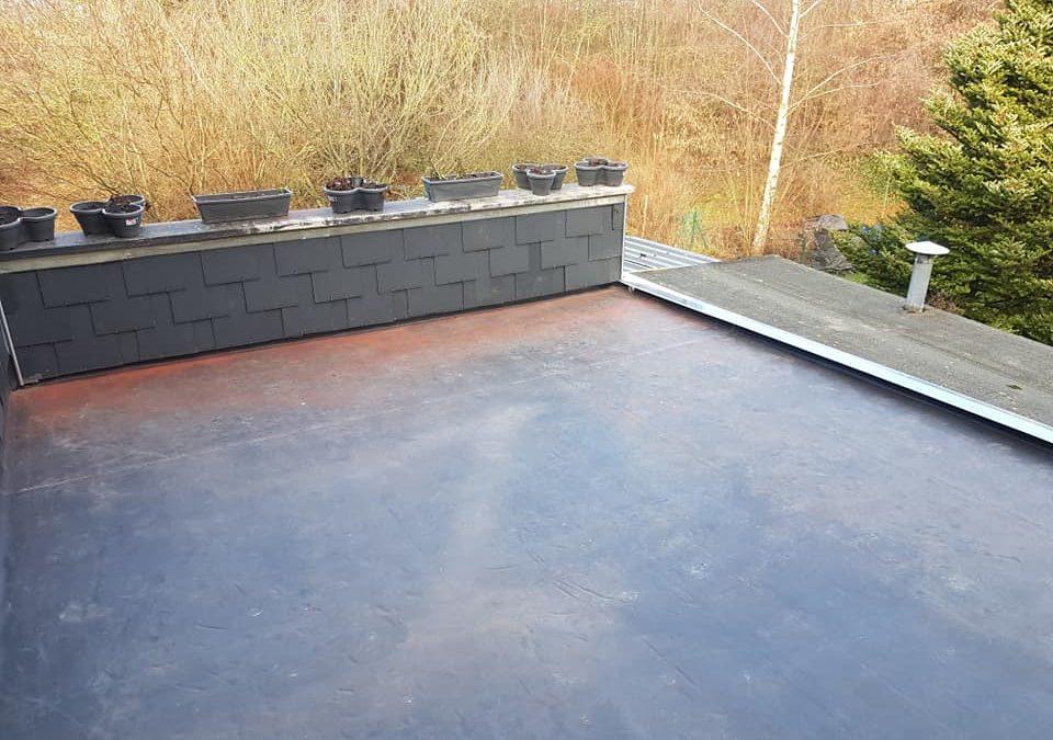 Rénovation de toiture (plateforme) avec isolation