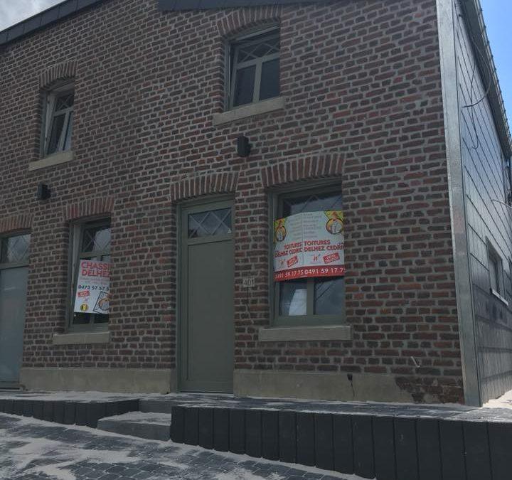 Rénovation toiture : avant/après à Liège